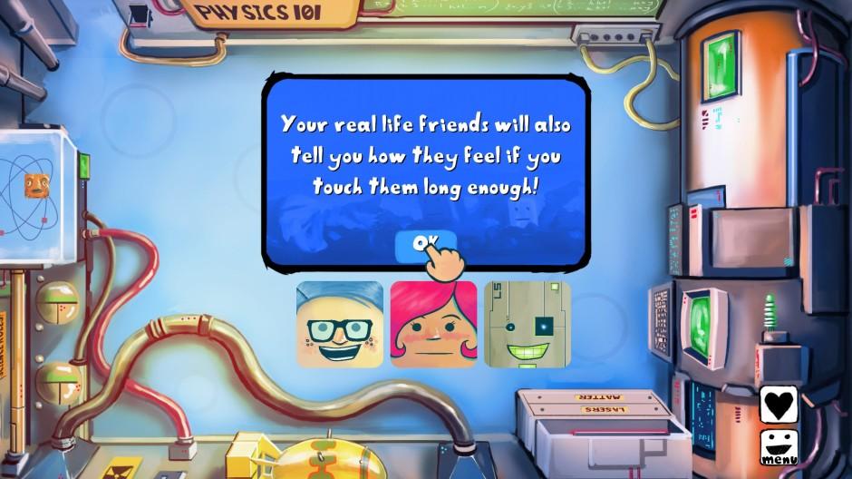 Girls Like Robots in game screenshot