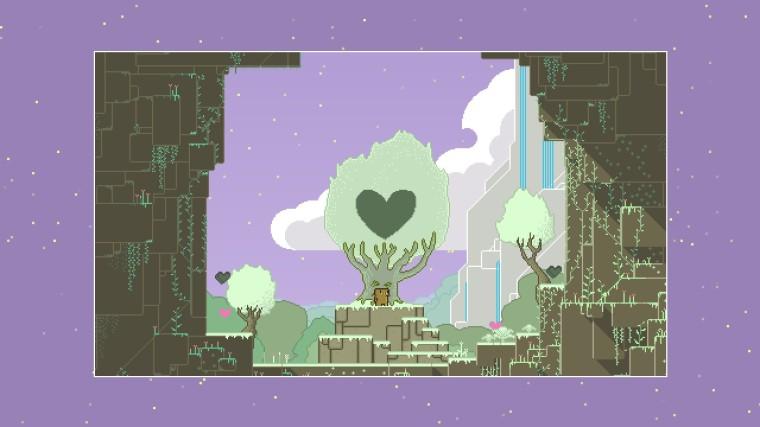empty heart tree