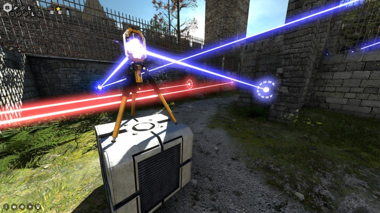 multiple connected lasers