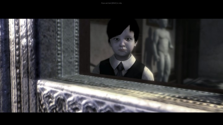 Lucius being creepy