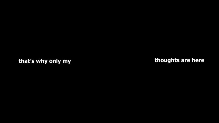 Subconscious thought scramble