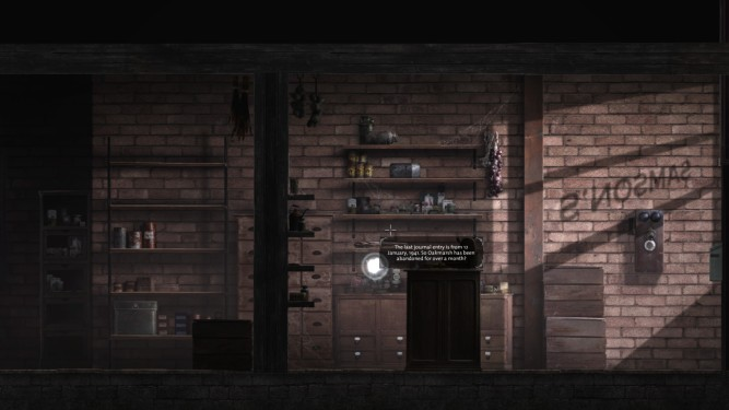 Abigail investigates a ransacked general store
