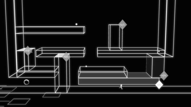 a random assortment of rectangular prisms