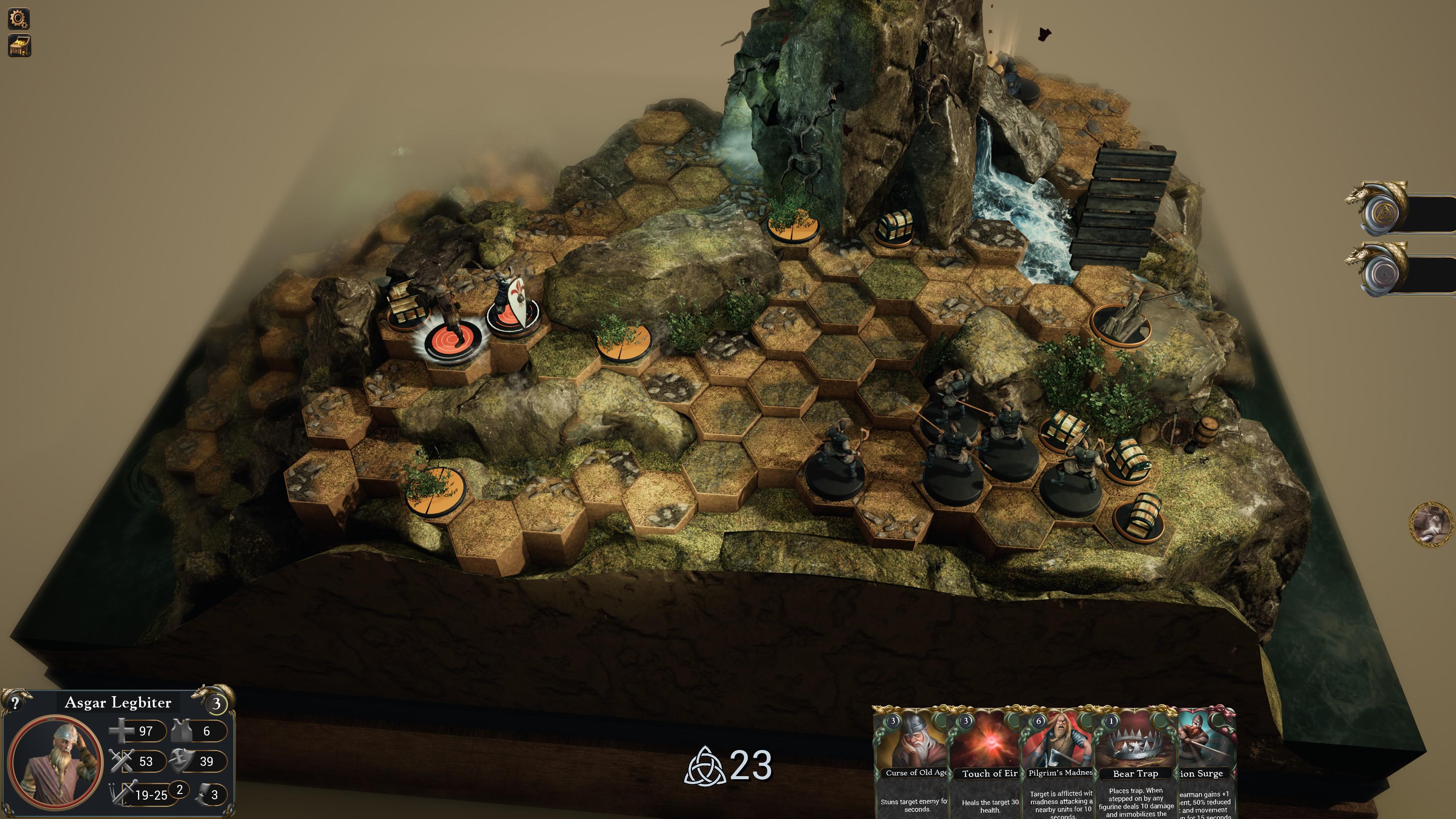 An assault on bandits guarding treasure