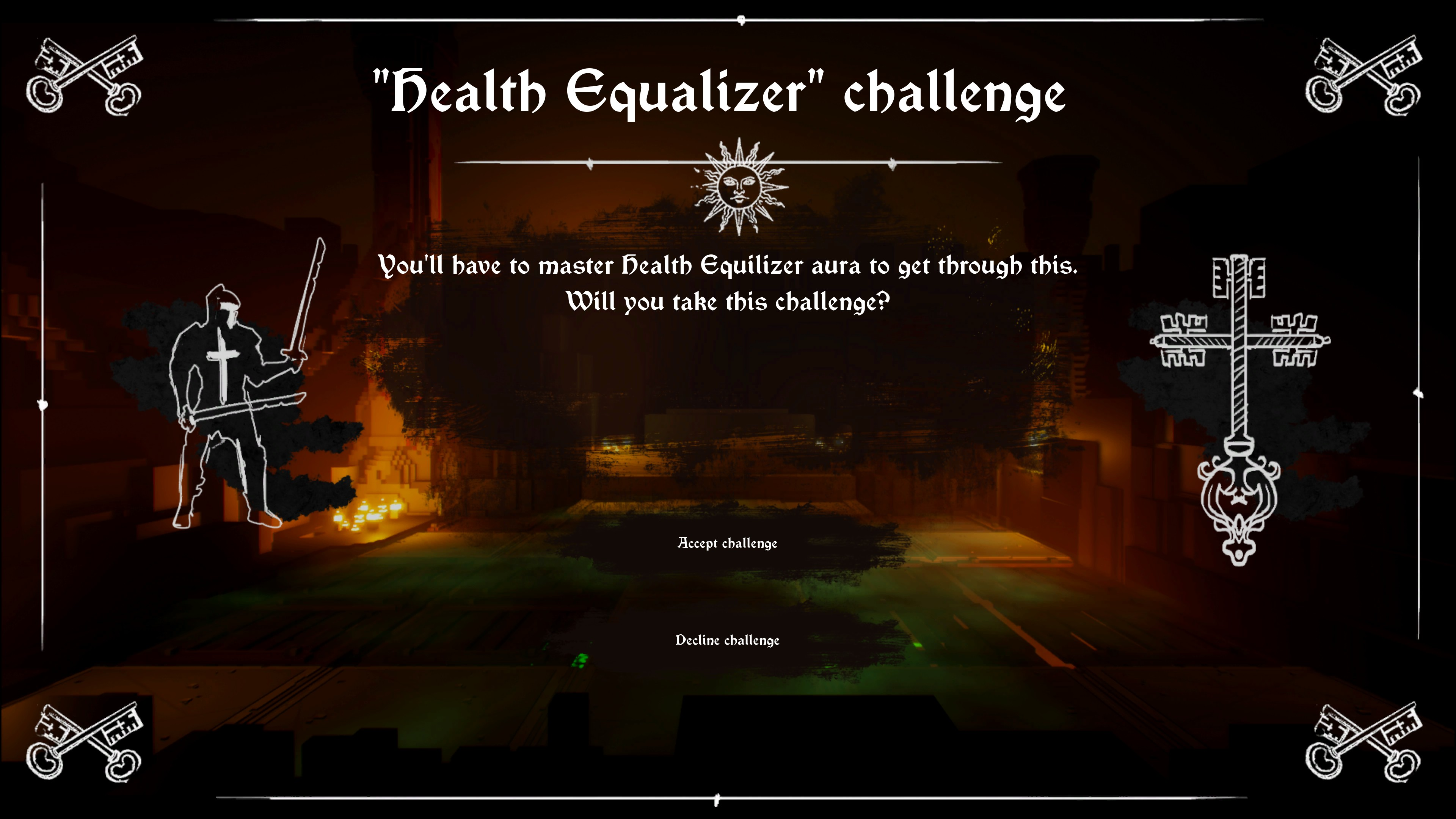 Death equalizer challenge