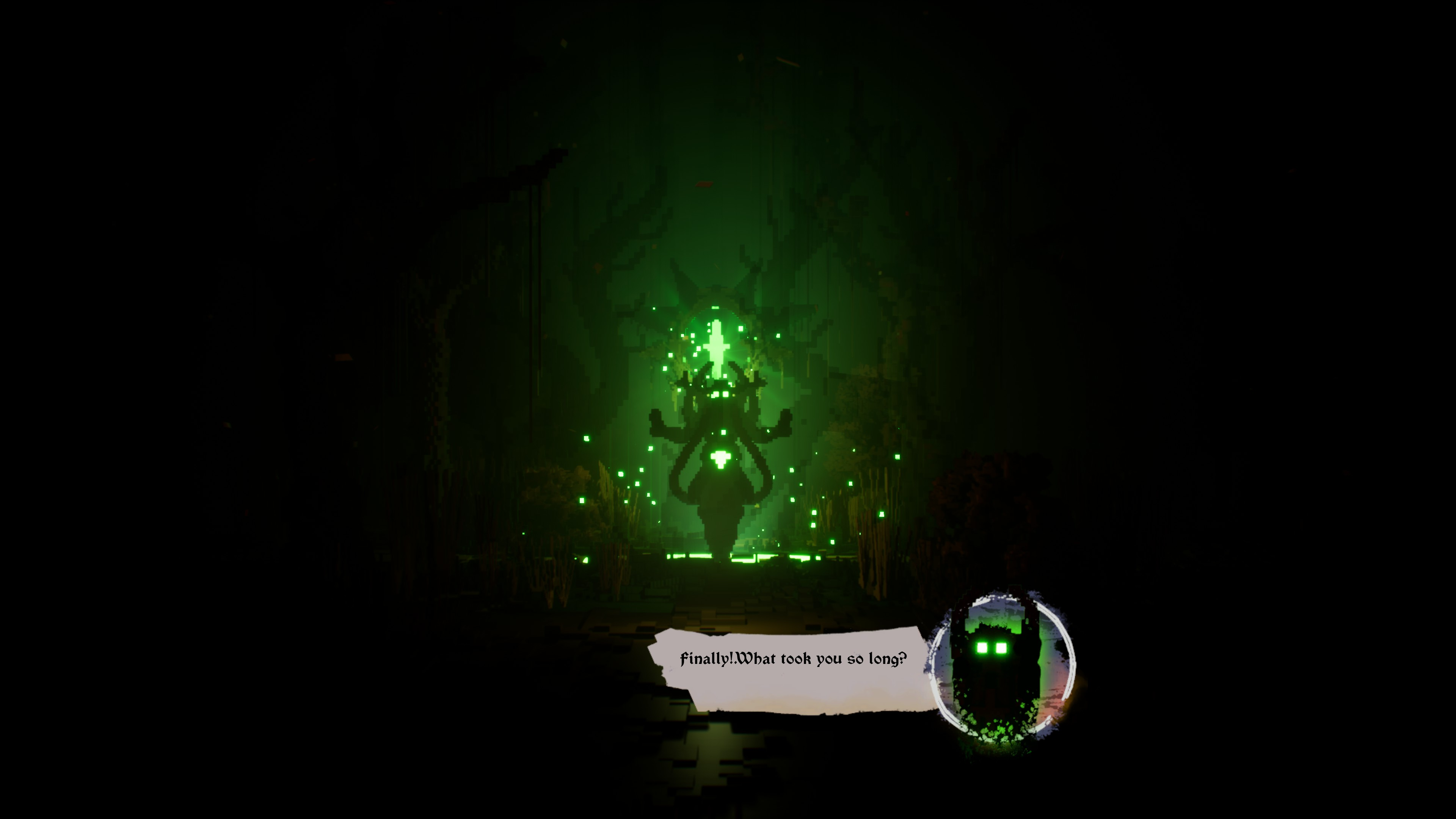 act 1 boss saying finally what took you so long