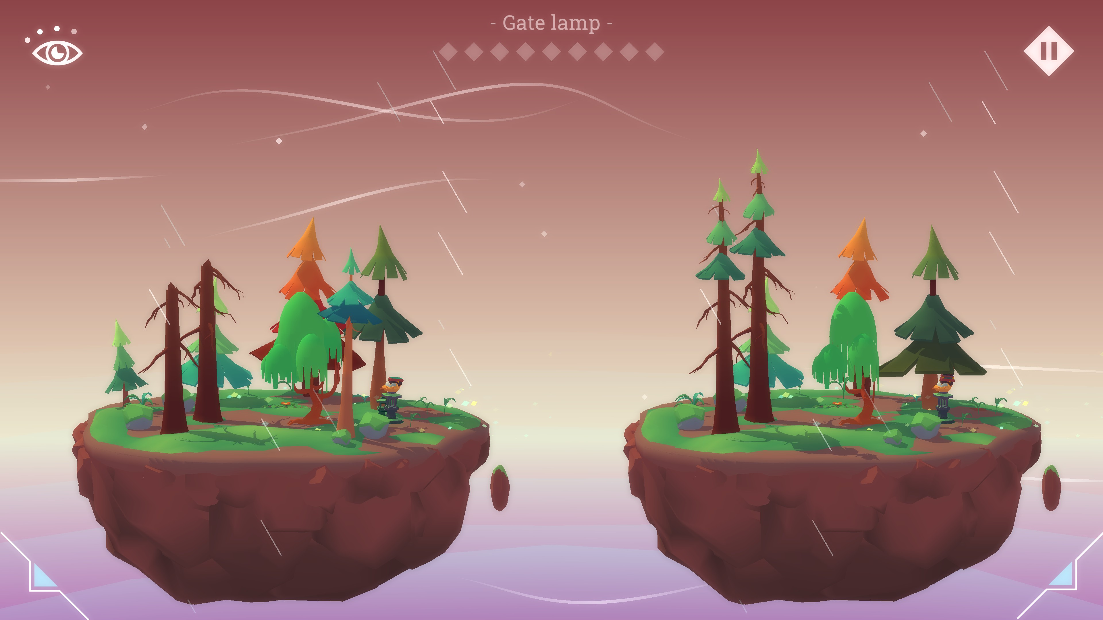Hidden Lands. Forest level with 9 differences