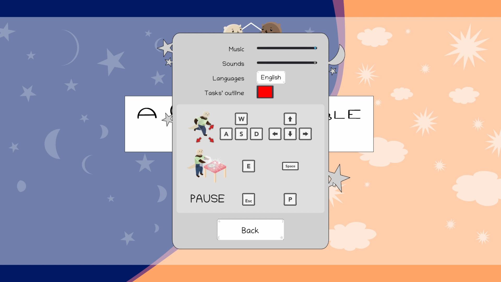 A Comfortable Burden game screenshot.