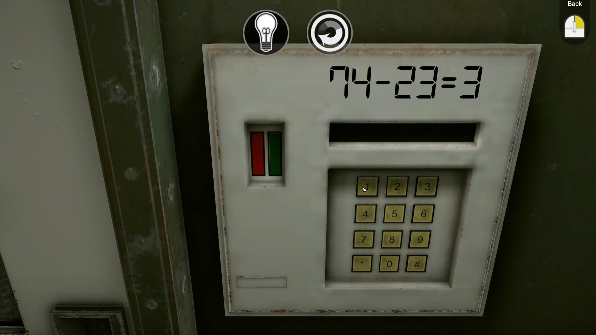Tested on Humans  Escape Room game screenshot.