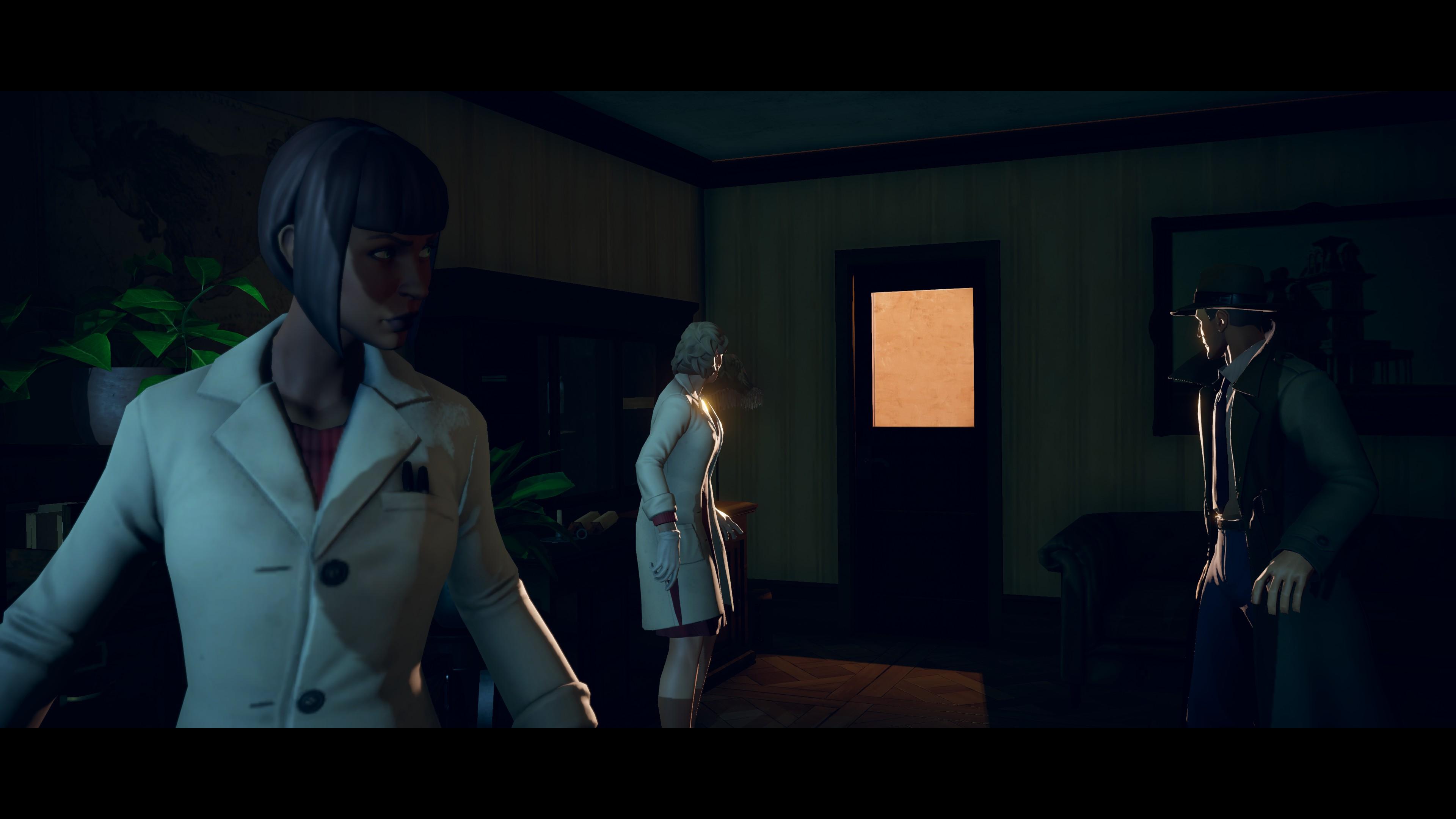 Arkham Horror  Mother's Embrace game screenshot.