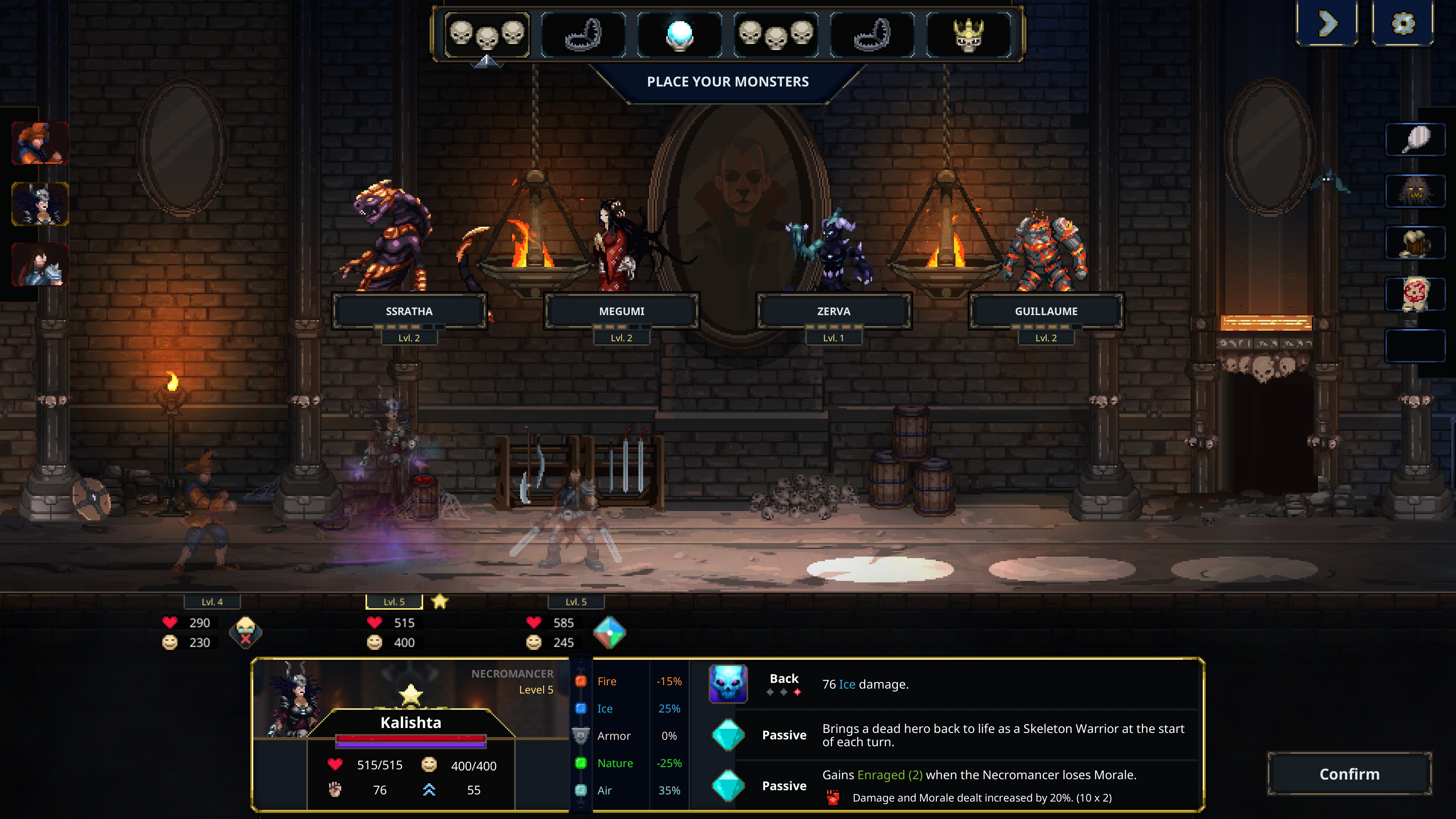 Legend of Keepers  Career of a Dungeon Manager game screenshot.