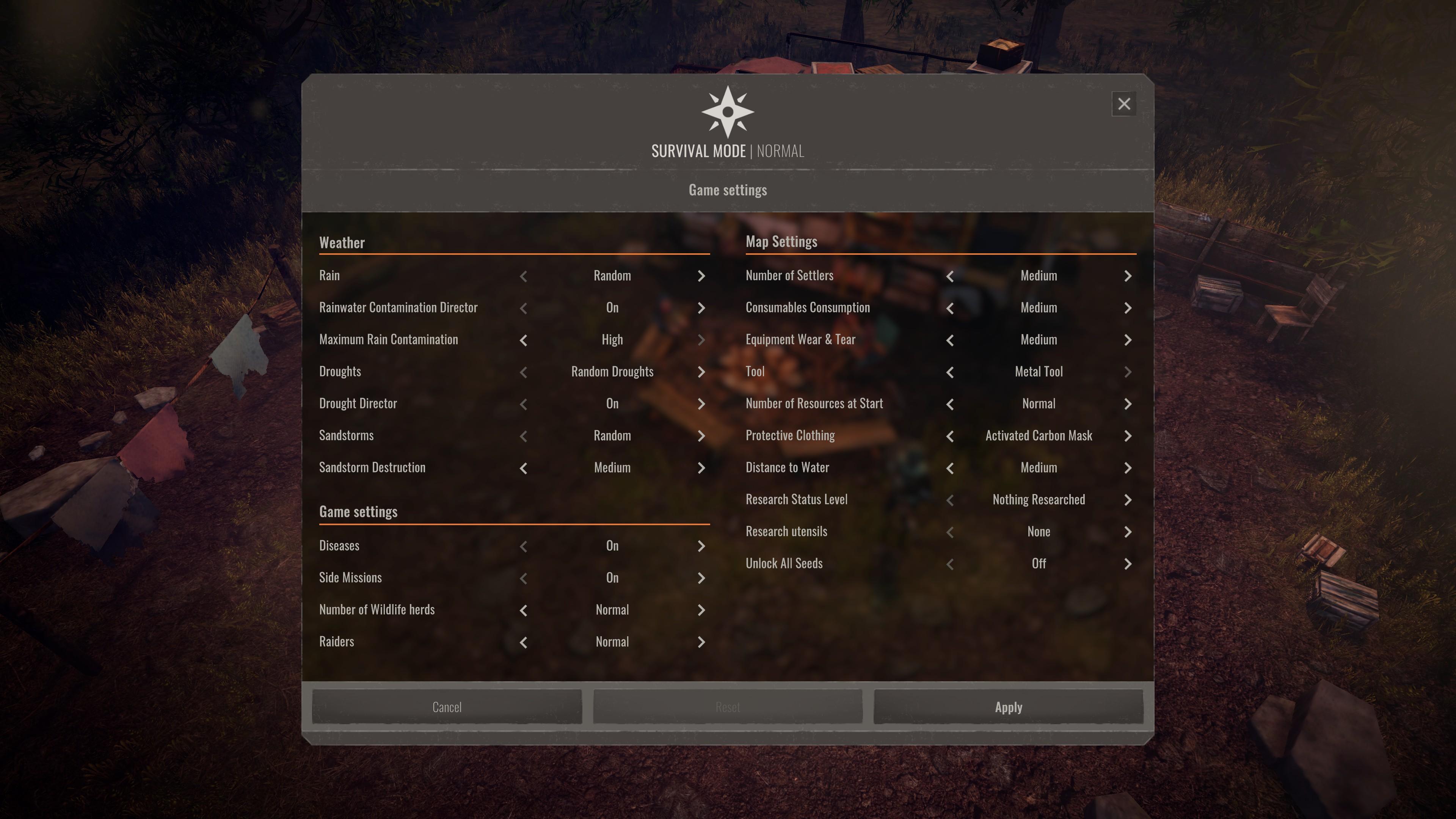 Endzone - A World Apart game screenshot.