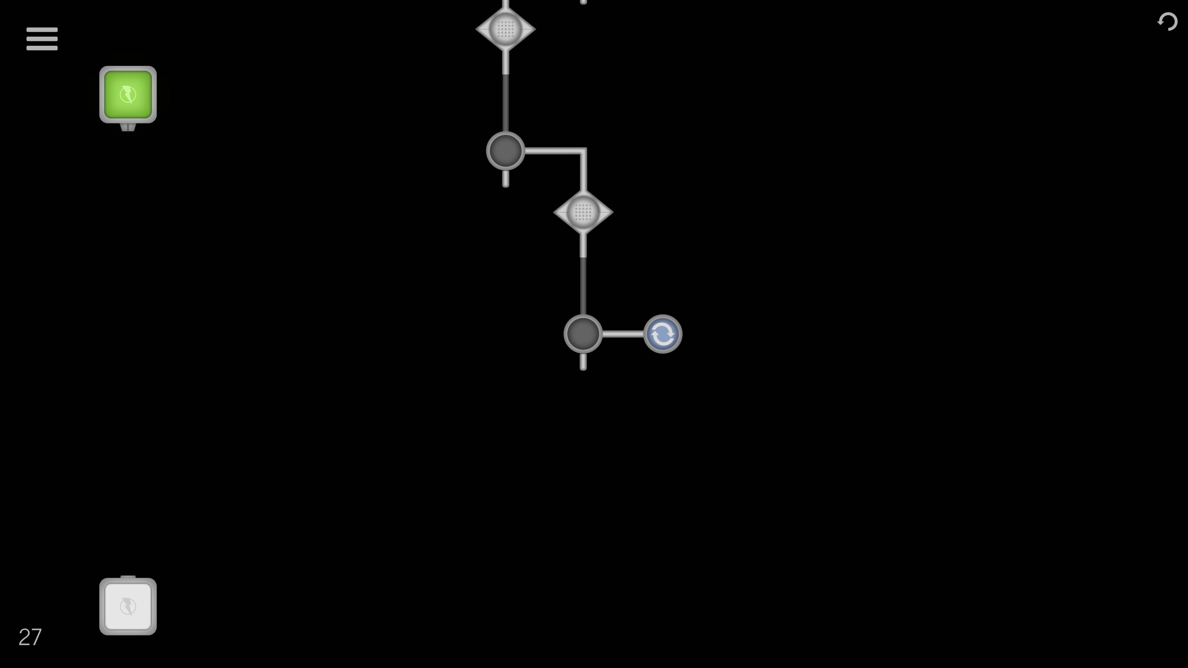 Flex hooks game screenshot.